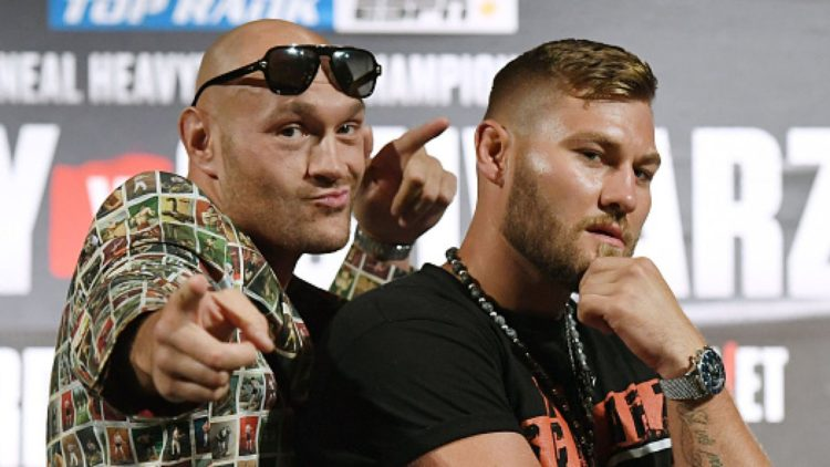 Tyson Fury Says He Is Humbled By Welcoming Reception In Las Vegas