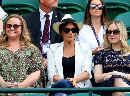 Meghan Markle Makes Surprise Appearance At Wimbledon To Support Williams