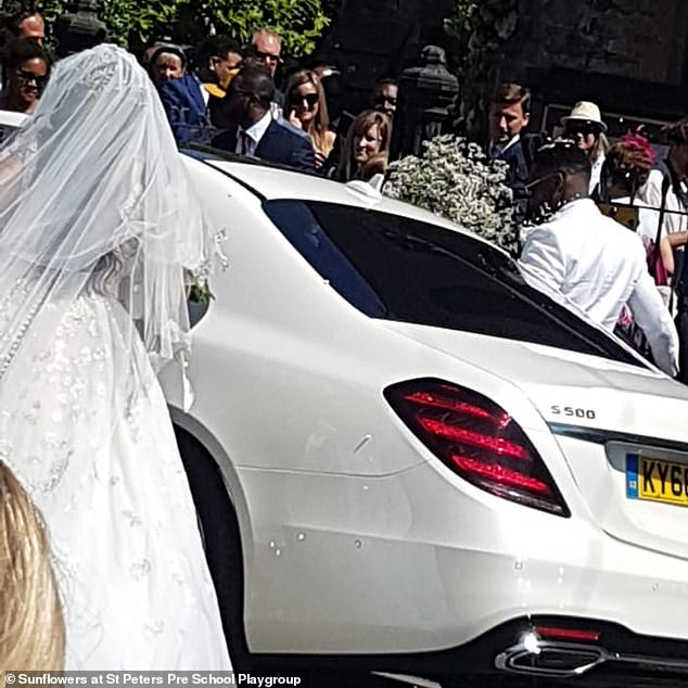 Tinie Tempah's Stunning Private Wedding Watched By School Kids Through Fence