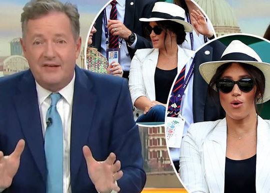 Piers Morgan Blasts Meghan Markle's Request To Ban Pictures At Wimbledon