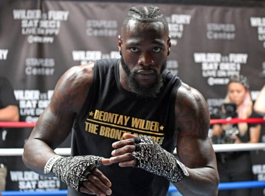 Deontey Wilder Rubbishes Fury's 'Mental Health' Promo As Yesterday's News