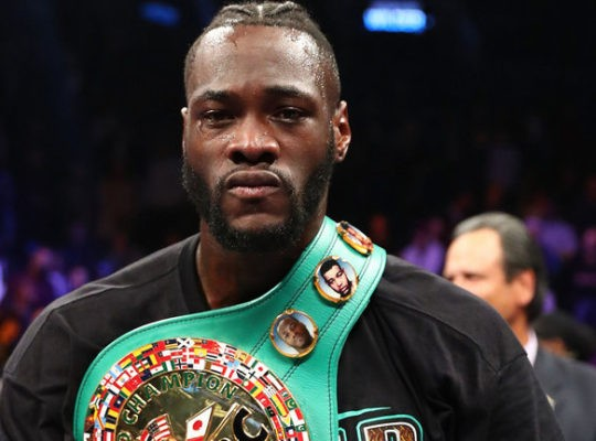 Deontey Wilder Criticises And Rubbishes Fury's 'Invisible' Lineal Title