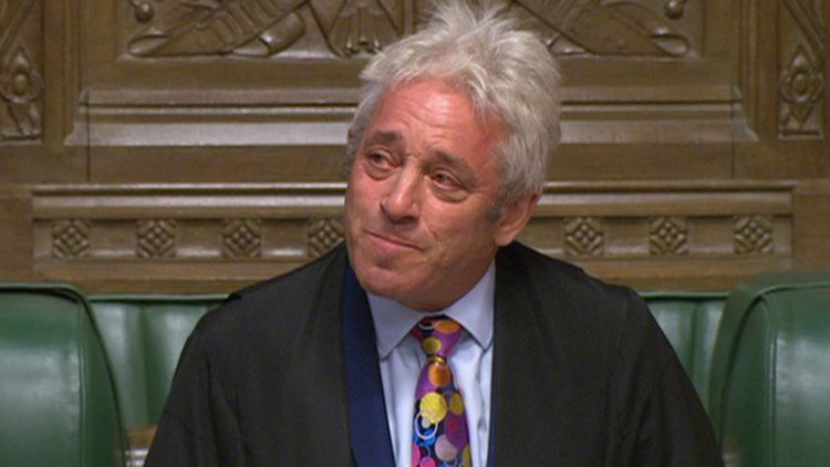 House Speaker John Bercow Steps Down  As Uk Political Crisis Deepens