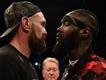 Wilder Warns Fury To Be Ready For Eye Cut To Re Open In Rematch