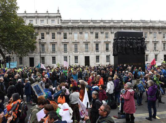Extinction Rebellion Protests Bring Westminster To Standstill Over  Envitonmental Change
