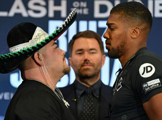 Andy Ruiz: I am Slick Pressure Fighter Who Will Break Joshua's Heart