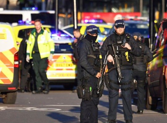 Terrorist Attack:  Two Members Of Public Killed in London Bridge  And Police Shoot Terrorist Dead