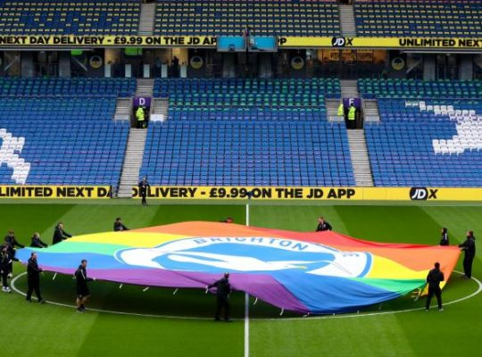 Football: Anti Discrimination Campaigners Call For Joint Action Against Homophobia And Racism