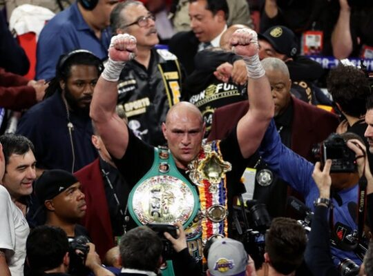 Heroic Tyson Fury Kept His Word And Snatched Wilder's Title