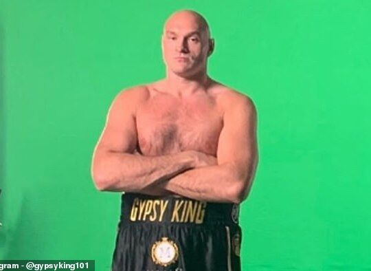 Tyson Fury Vows To Expose How Fake Anthony Joshua Is