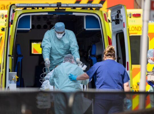 Number Of UK Excess Deaths In UK Reaches Close To 60,000