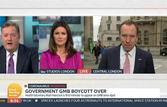 Downing Street Resumes GMB Interview After Lee Cain Departure