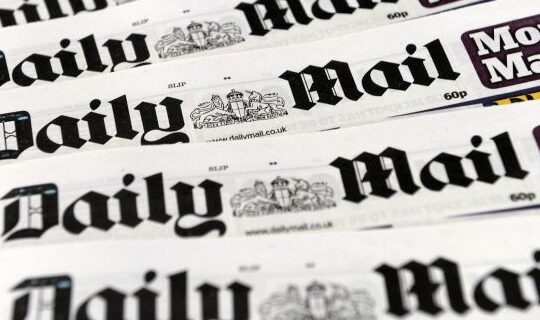 Daily Mail Praised After Revelation 95% Of Uk COVID-19 Victims Have Serious Illnesses