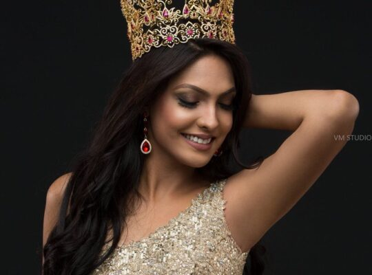 Police Question Former Miss World After She Forces Crown Off Ms Sri Lanka's Head
