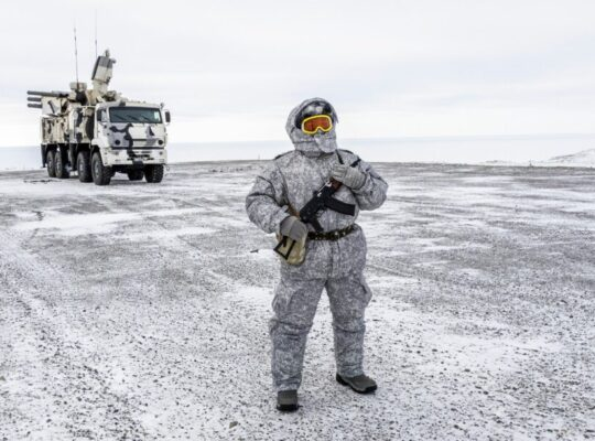 New Satellite Images Reveal Unprecedented Russian Presence In Arctic