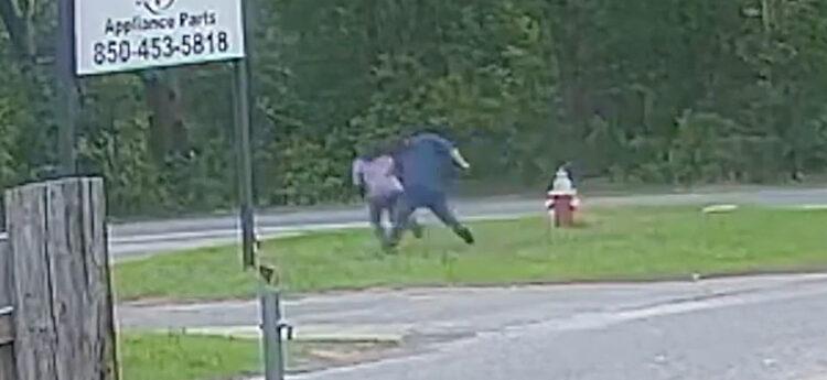Brave 11 Year Old Girl In Florida Filmed Fighting Off Kidnapper In Viral Video