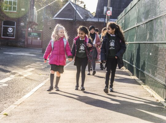 Reading Schools Gear Up To National Walk To School For Multiple Gains