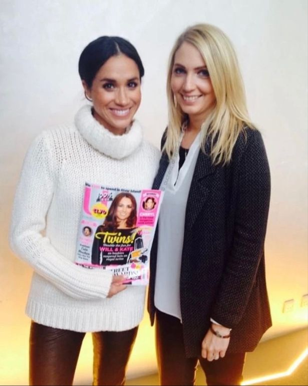 Photo Of Meghan Holding Magazine With Kate Middleton In 2014 Sparks Online Debate