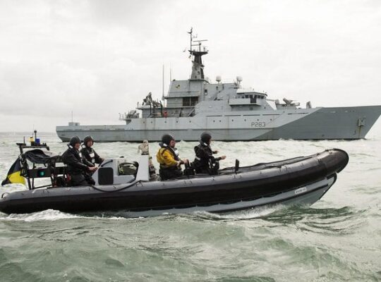 UK To Send Royal Navy Patrol Vessels To Monitor Fishin
