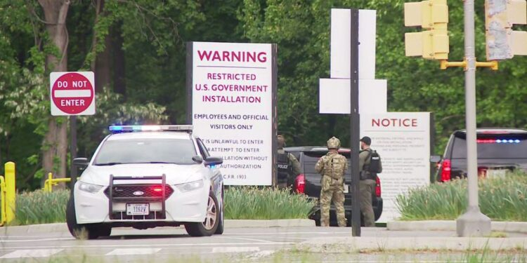 CIA Shoots Man Outside Headquarters After Stand Off