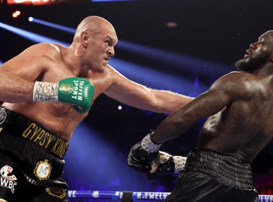 Tyson Fury Ordered To Fight Deontey Wilder In Trilogy Match