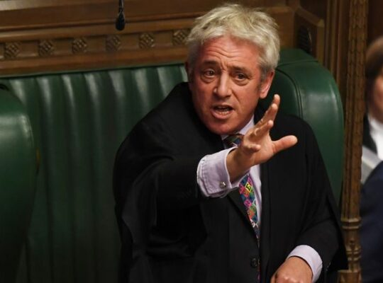 John Bercow's Serious Attack On The British Conservative Party As Populist And Xenophobic