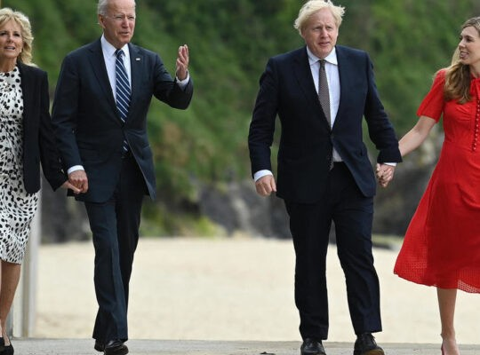 Boris Johnson  Commits To Shared Goals Of Northern Ireland Agreement After Productive Biden Meeting