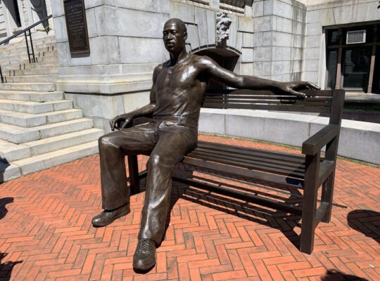 Bronze Statue Of George Floyd Unveiled In Newark New Jersey