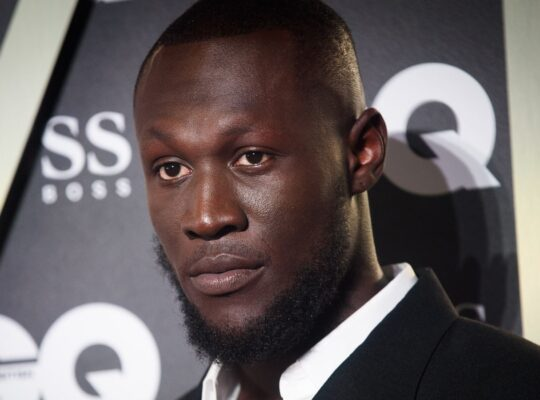 Stormzy Encourages Thrilled Young Athletes At North London Track Field