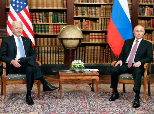 President Biden Warned Putin Of Devastating Consequences If Nalvany Dies In Prison