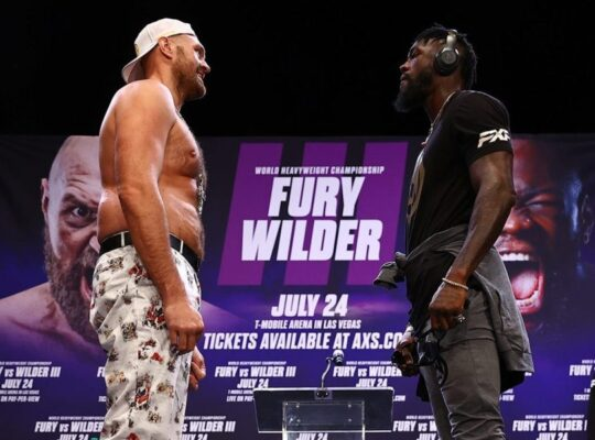 Tyson Fury's World Title defense Set To Be Pushed Until October After Champion Tests Positive For Covid