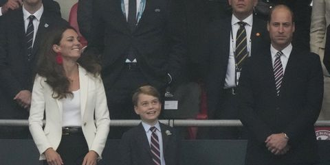 How Prince William Will Explain Euro 2021 Final Defeat And Drama To Prince George