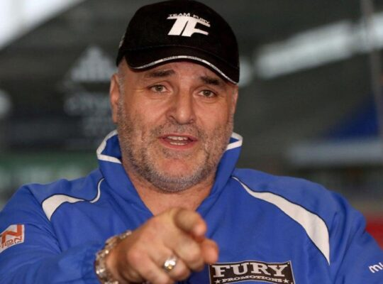John Fury Pushing For December Joshua Clash Vowing Tyson Will Knock Out Wilder In Four Rounds