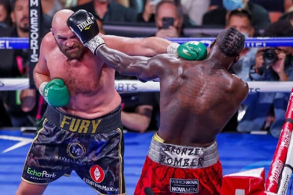 Gypsy King Produced Career Best Victory Against Wilder In Epic Championship Battle For The Ages
