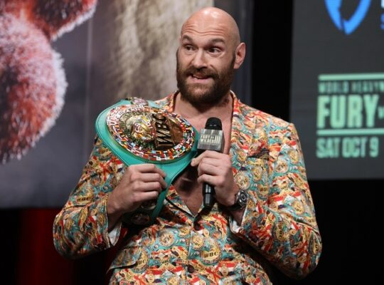Fury Calls Wilder Lying Dosser Who Is Unwell As Big Fight Beckons